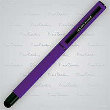 Pióro kulkowe touch pen, soft touch CELEBRATION Pierre Cardin